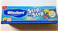 Wisdom Step by step toothpaste 0-3 years (Code 3376)